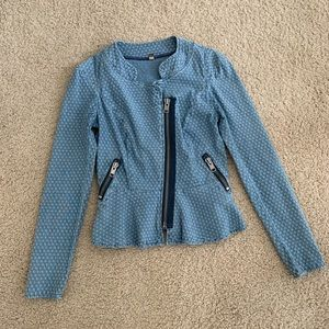 Free People Chambray Denim Jacket